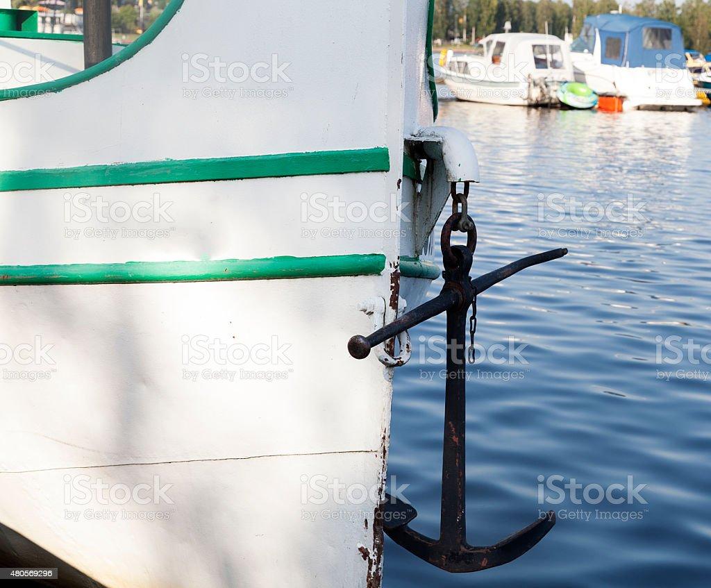 Anchor royalty-free stock photo