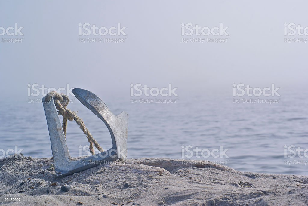 Anchor royalty-free stock photo