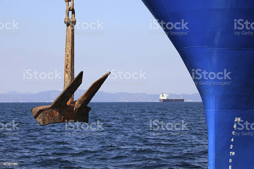 Anchor stock photo