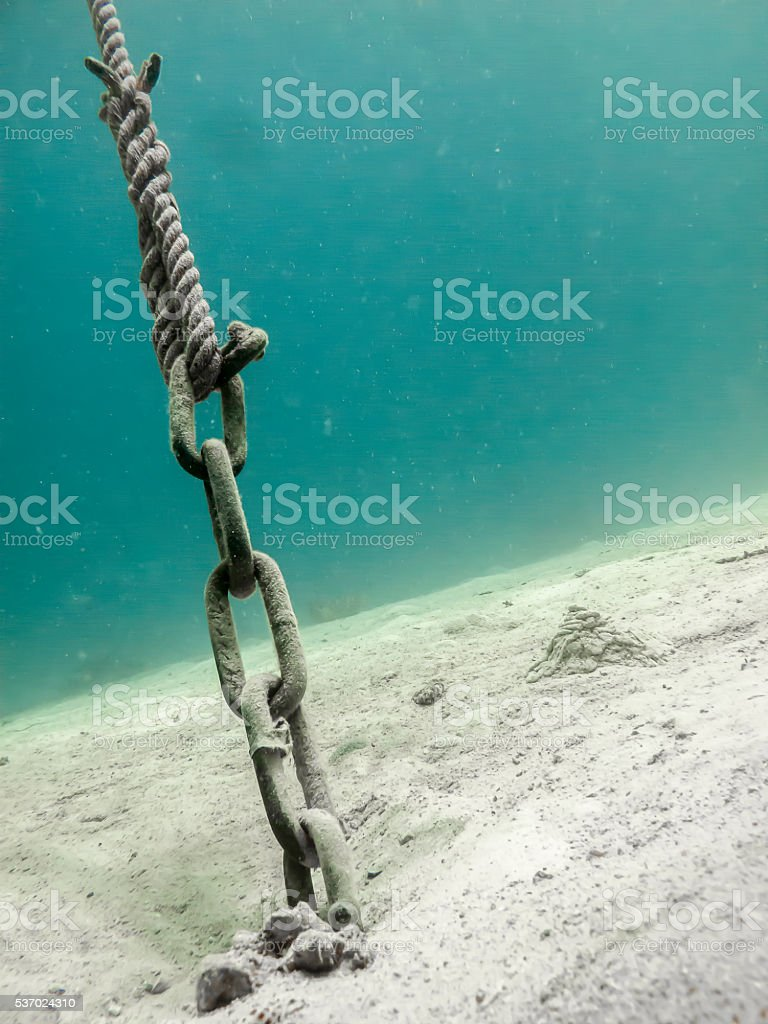 Anchor Point stock photo