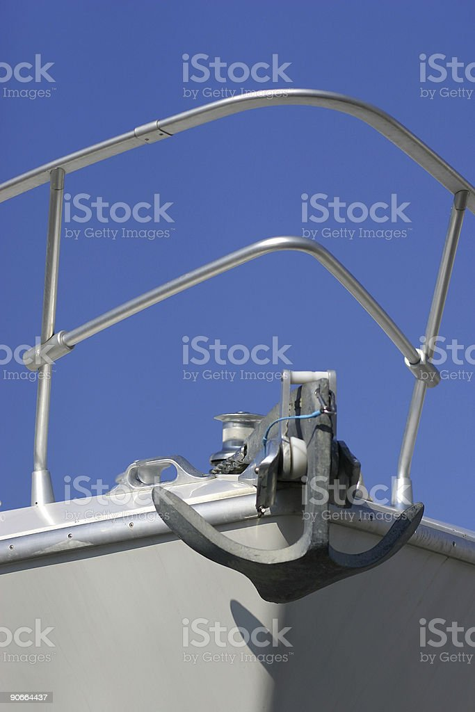 Anchor - vertical royalty-free stock photo