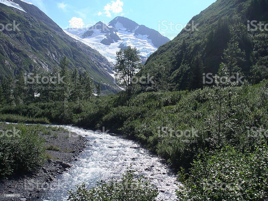 Anchorage, Alaska royalty-free stock photo