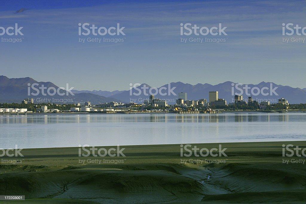 Anchorage Alaska stock photo