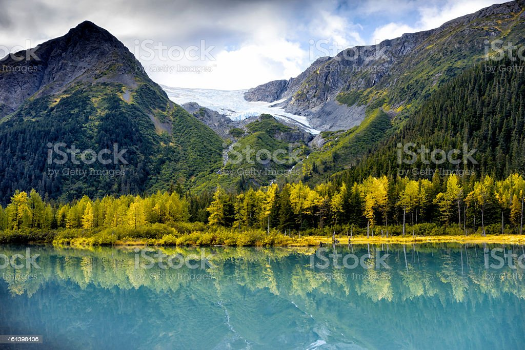 Anchorage Alaska State Parks stock photo