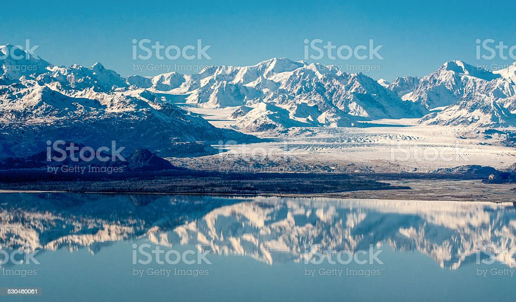 Anchorage Mountains stock photo