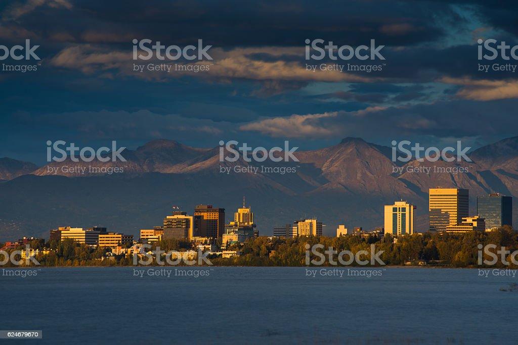 Anchorage stock photo