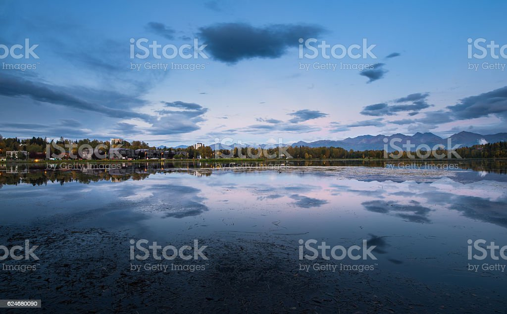 Anchorage stock photo