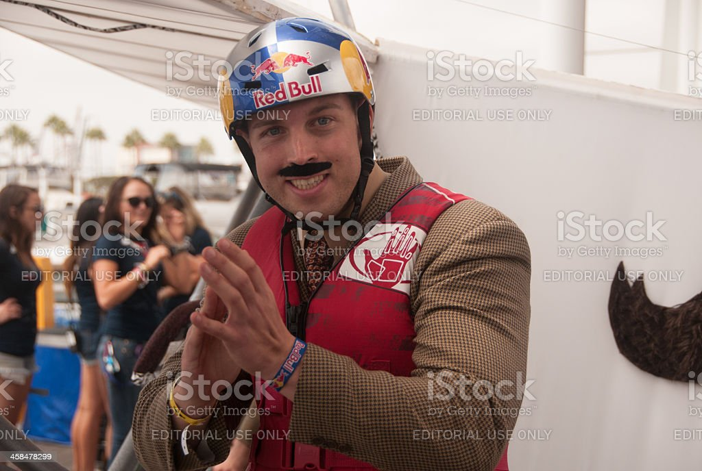 Anchorman royalty-free stock photo