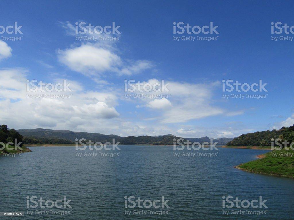 Anchuruly lake view stock photo