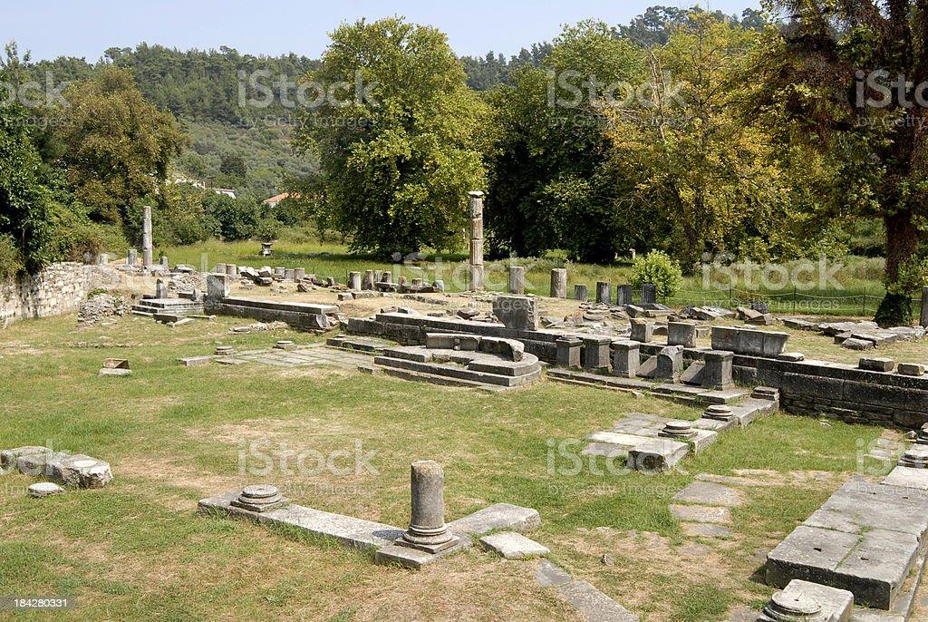 Ancient Agora (Market) stock photo