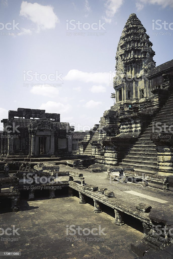 Ancient Angkor, Cambodia royalty-free stock photo