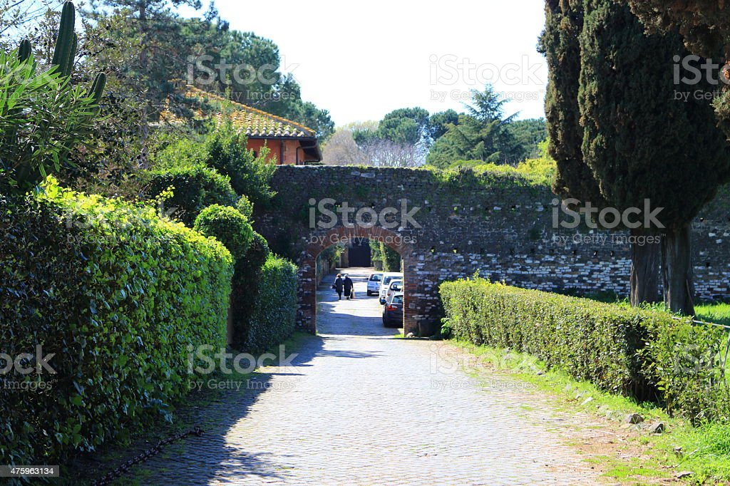 Ancient Arch stock photo