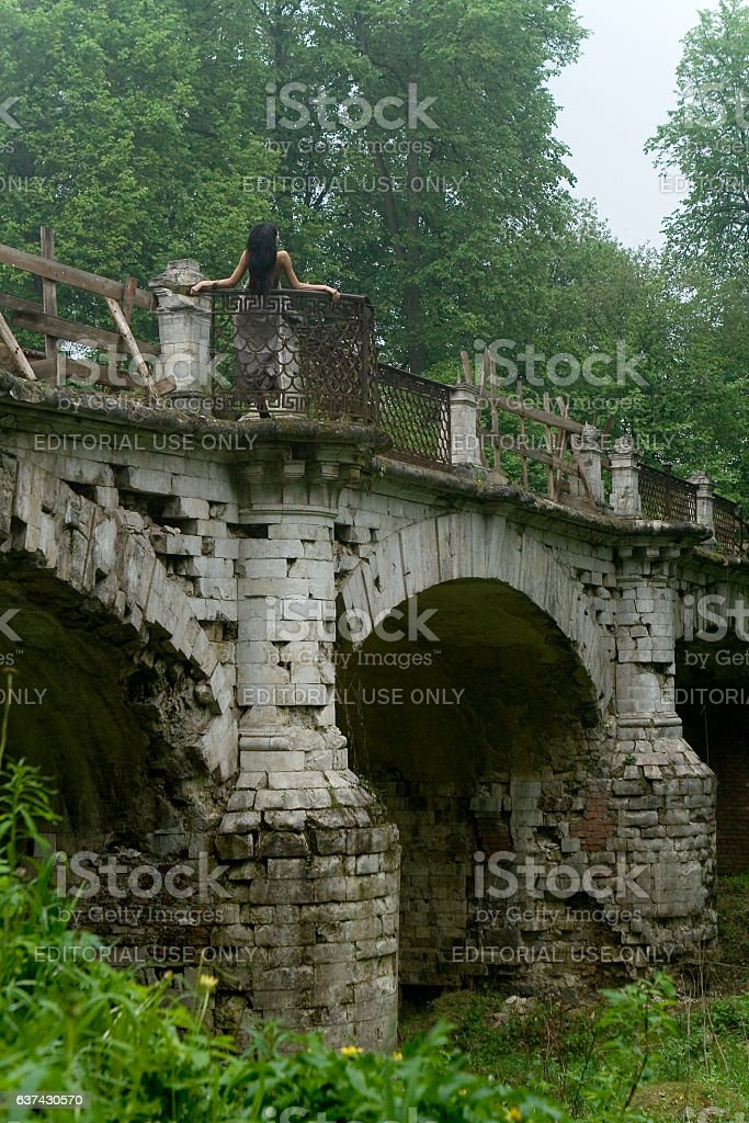 Ancient architecture. stock photo