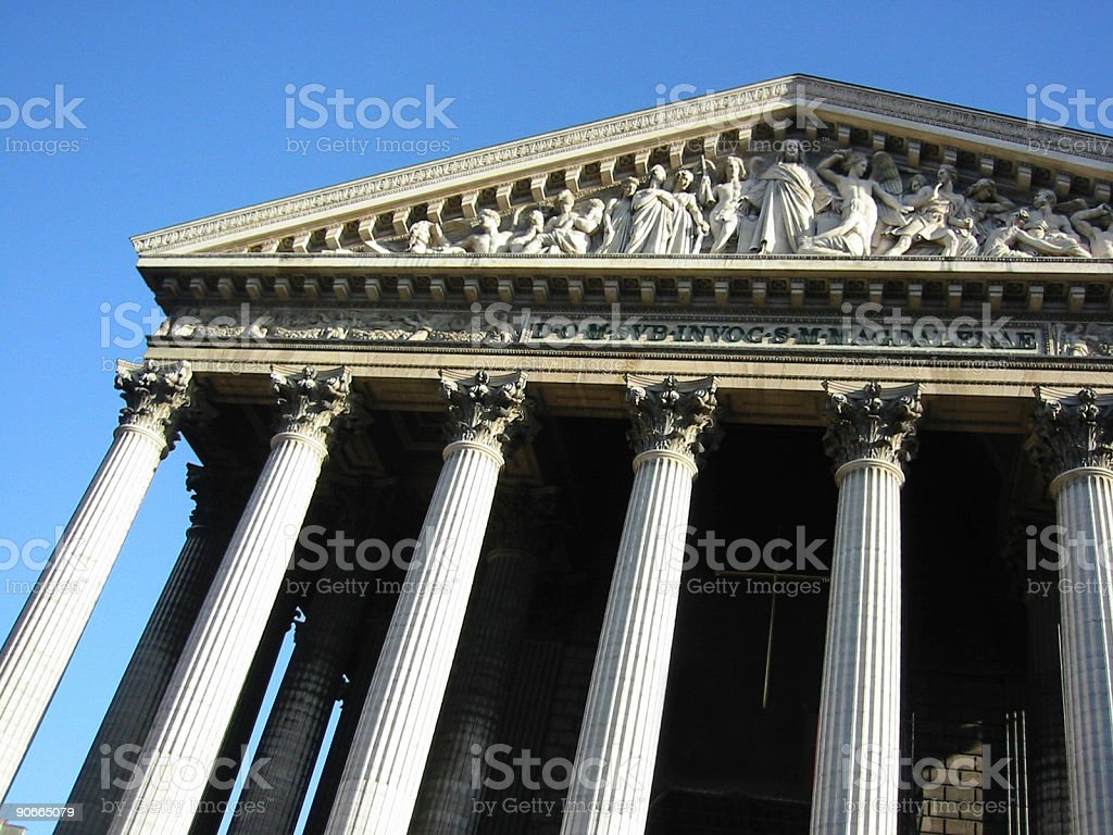 Ancient architecture royalty-free stock photo
