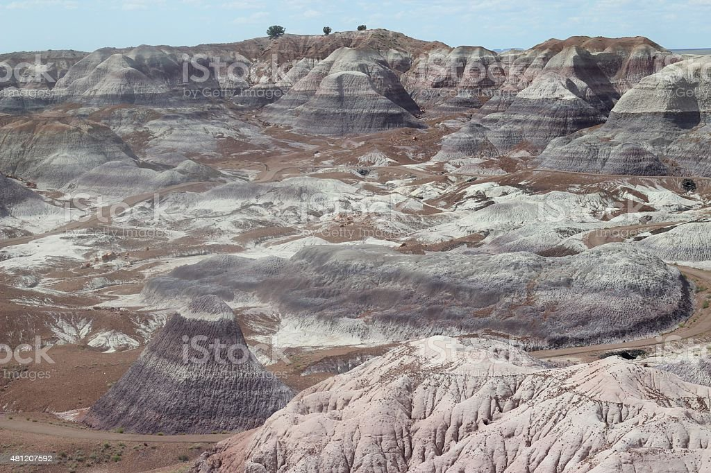 Ancient Arizona Mounds stock photo
