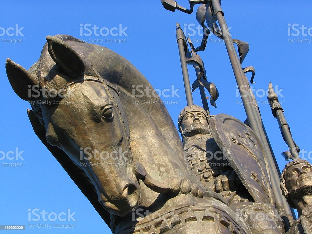Ancient army royalty-free stock photo