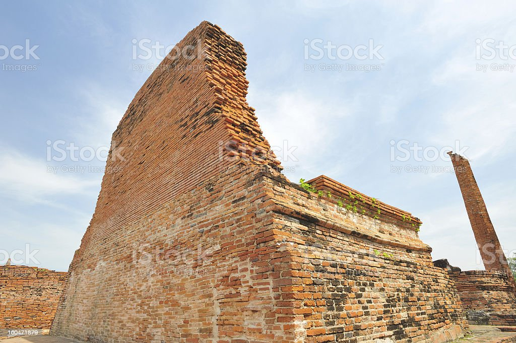 Ancient Art the oldest of  Buddhist royalty-free stock photo