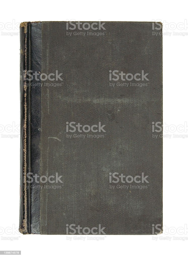 Ancient Black Book royalty-free stock photo