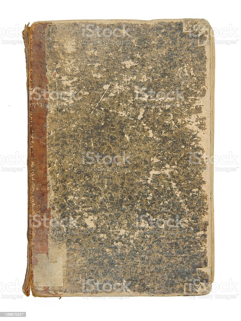 Ancient Book Cover royalty-free stock photo