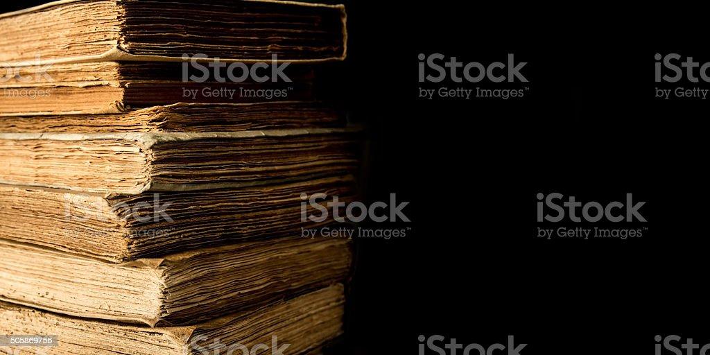 Ancient books - Copyspace stock photo