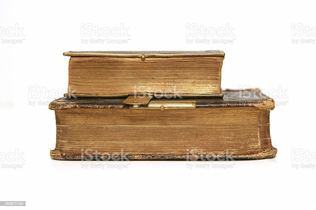 Ancient Books royalty-free stock photo