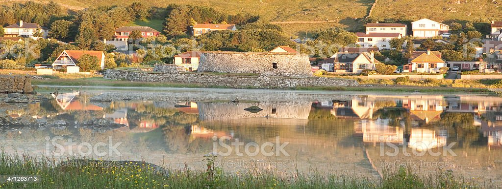Ancient Broch royalty-free stock photo