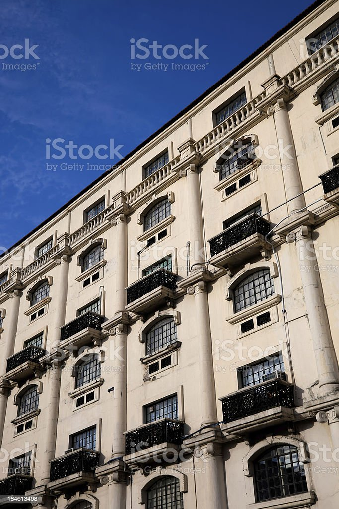 Ancient building in Manila Intramuros, Philippines royalty-free stock photo
