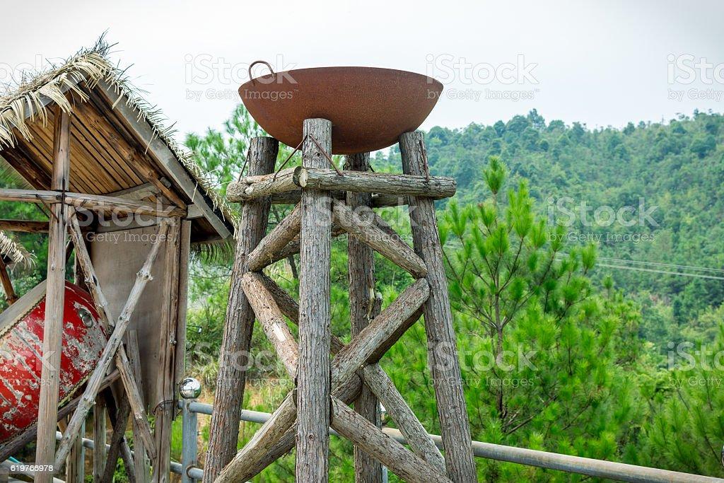 ancient burner stock photo