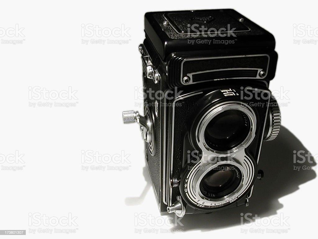 ancient camera stock photo