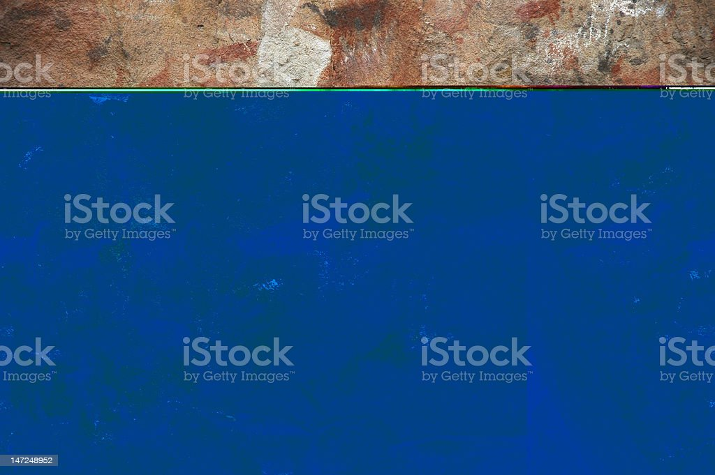 Ancient Cave Paintings, The Real Thing royalty-free stock photo