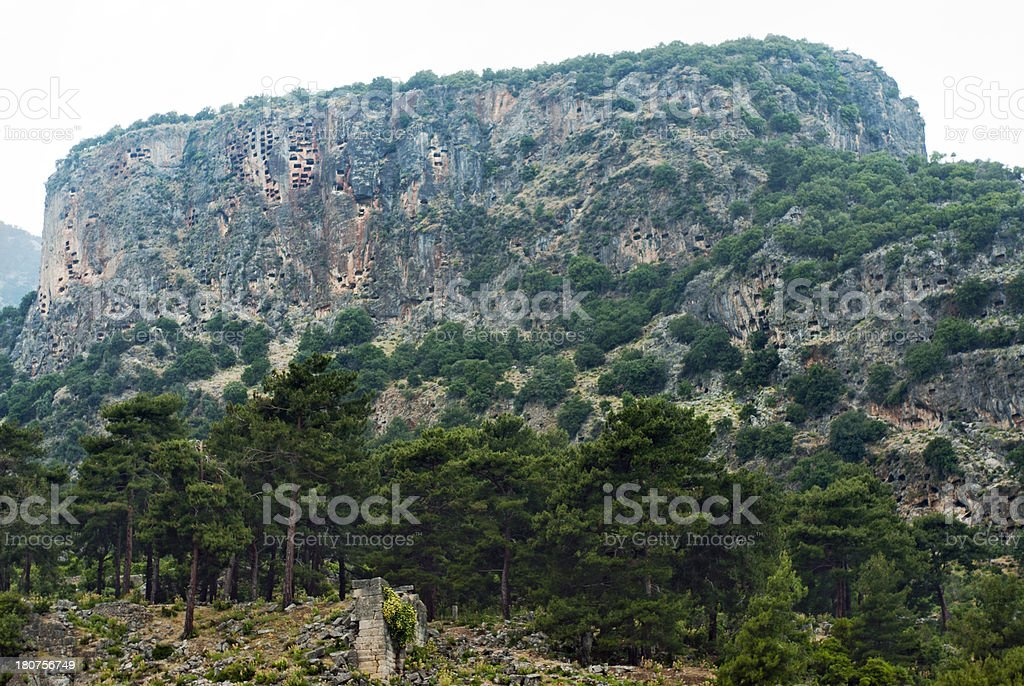 Ancient Caves royalty-free stock photo