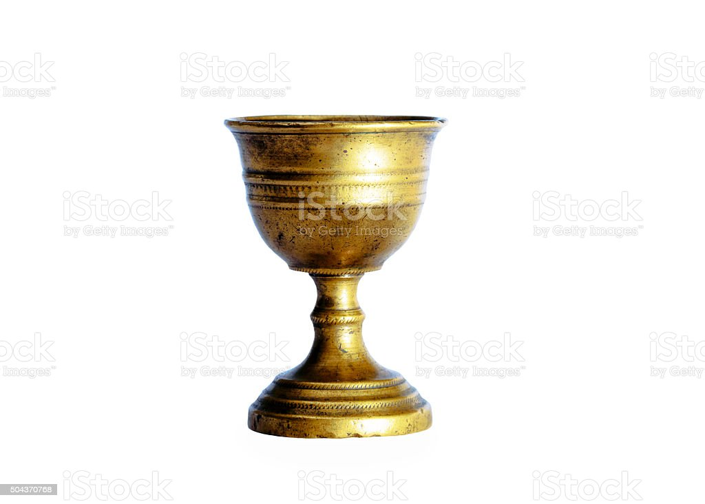 Ancient Chalice stock photo