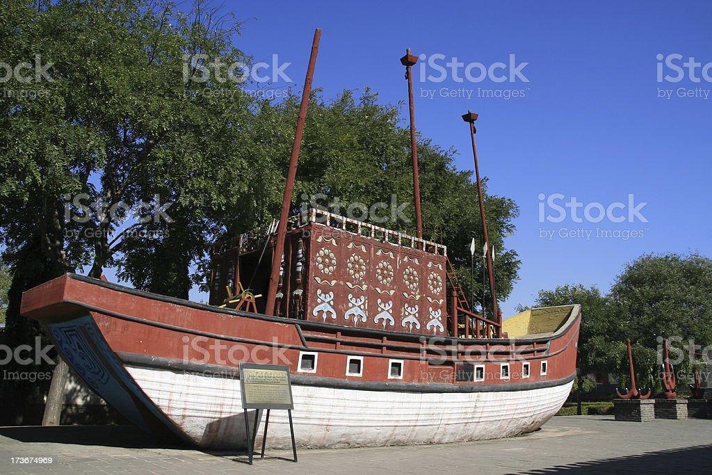 ancient china camp royalty-free stock photo