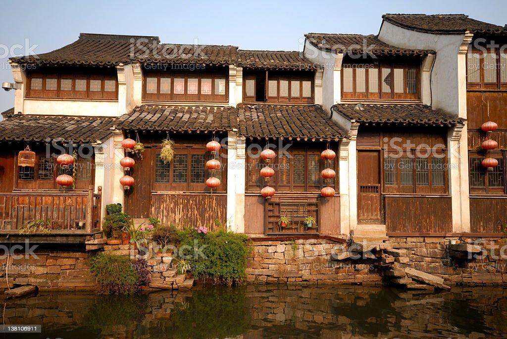 Ancient China royalty-free stock photo