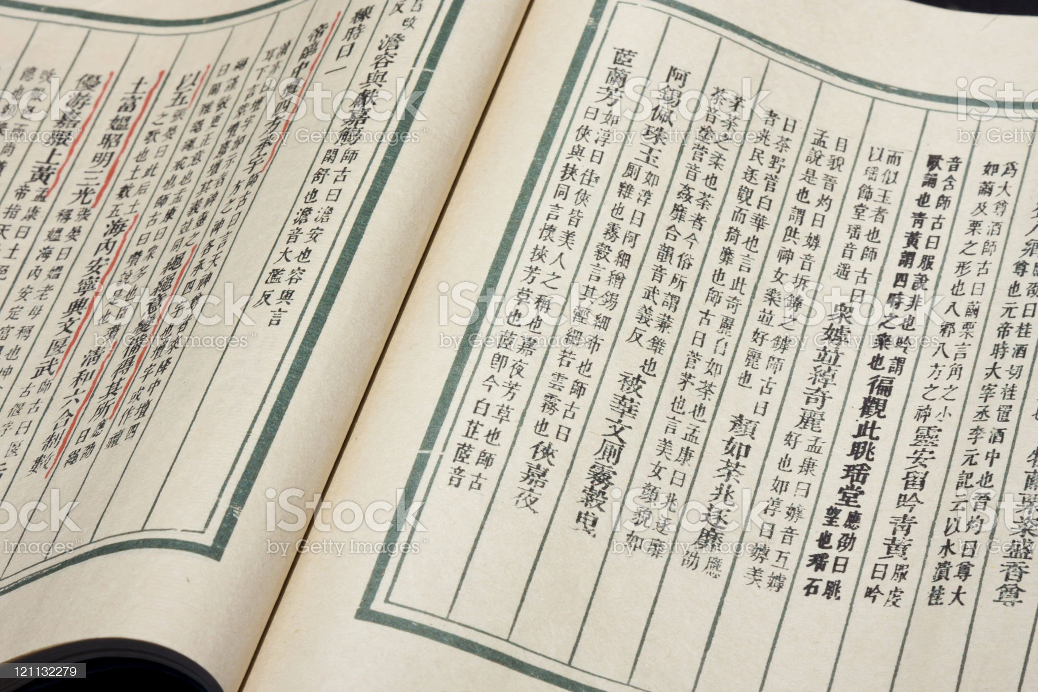 Ancient Chinese Books royalty-free stock photo