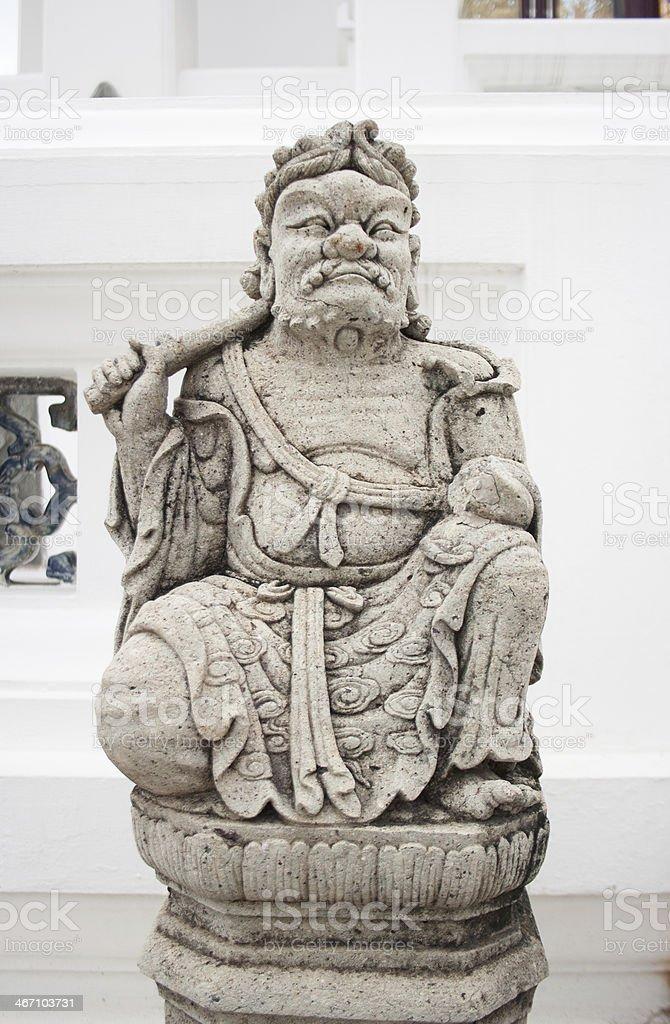 Древняя китайская Будда статуя человека Стоковые фото Стоковая фотография