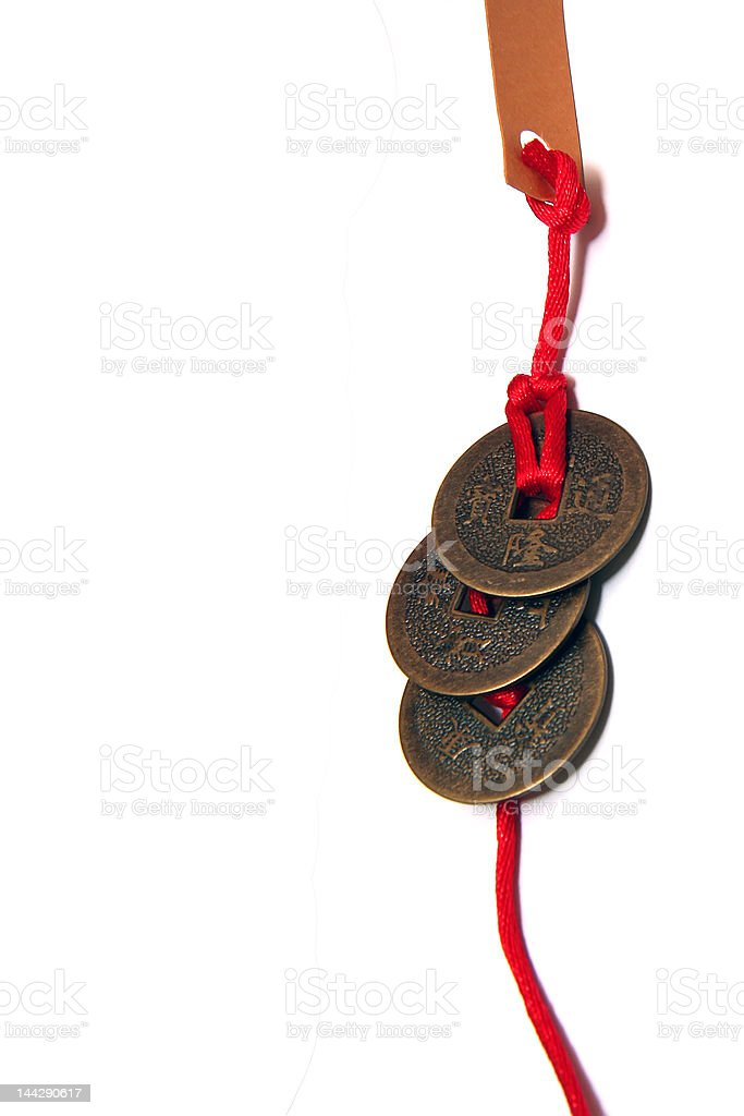 Ancient Chinese Coins royalty-free stock photo