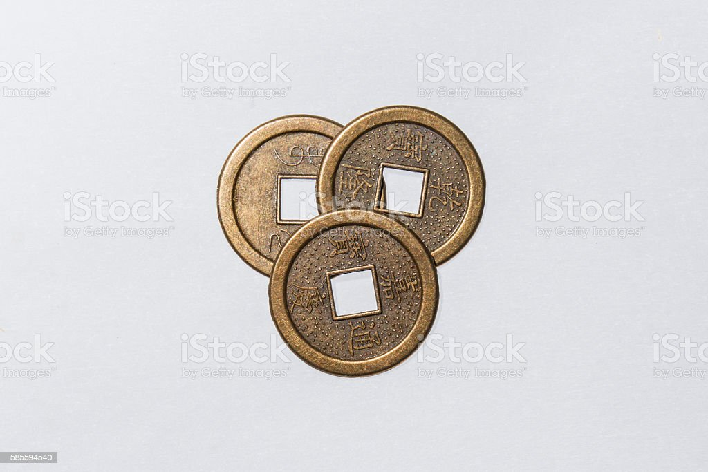 Ancient Chinese Coins Stock Photo 585594540 Istock