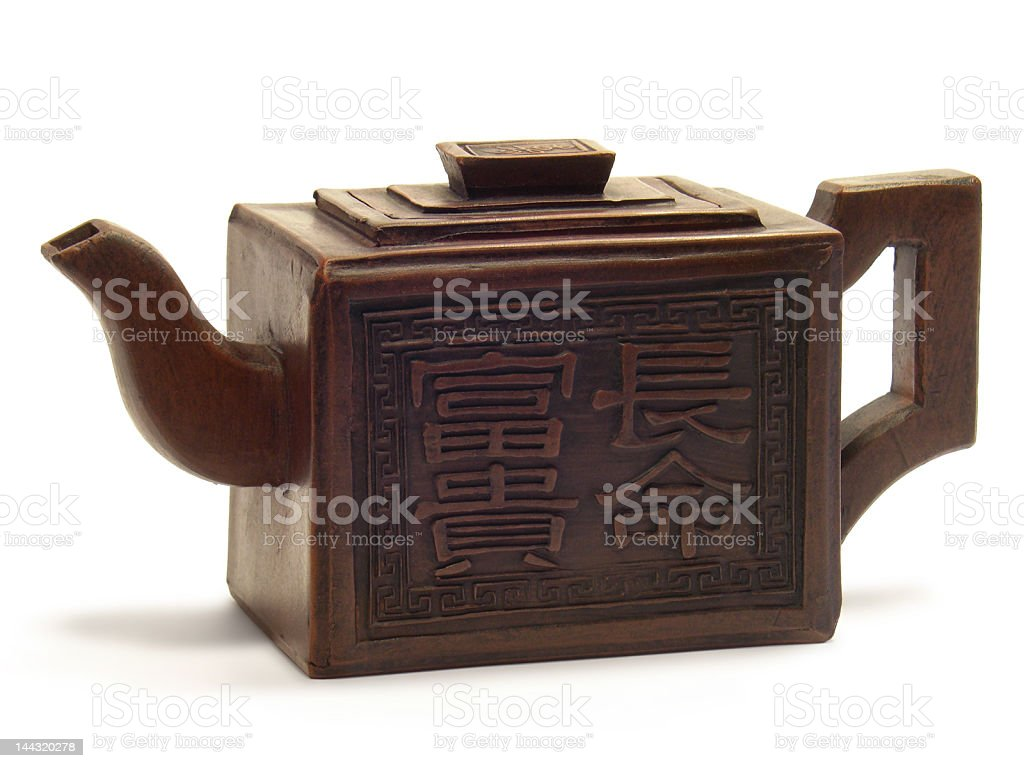 Ancient Chinese Teapot royalty-free stock photo
