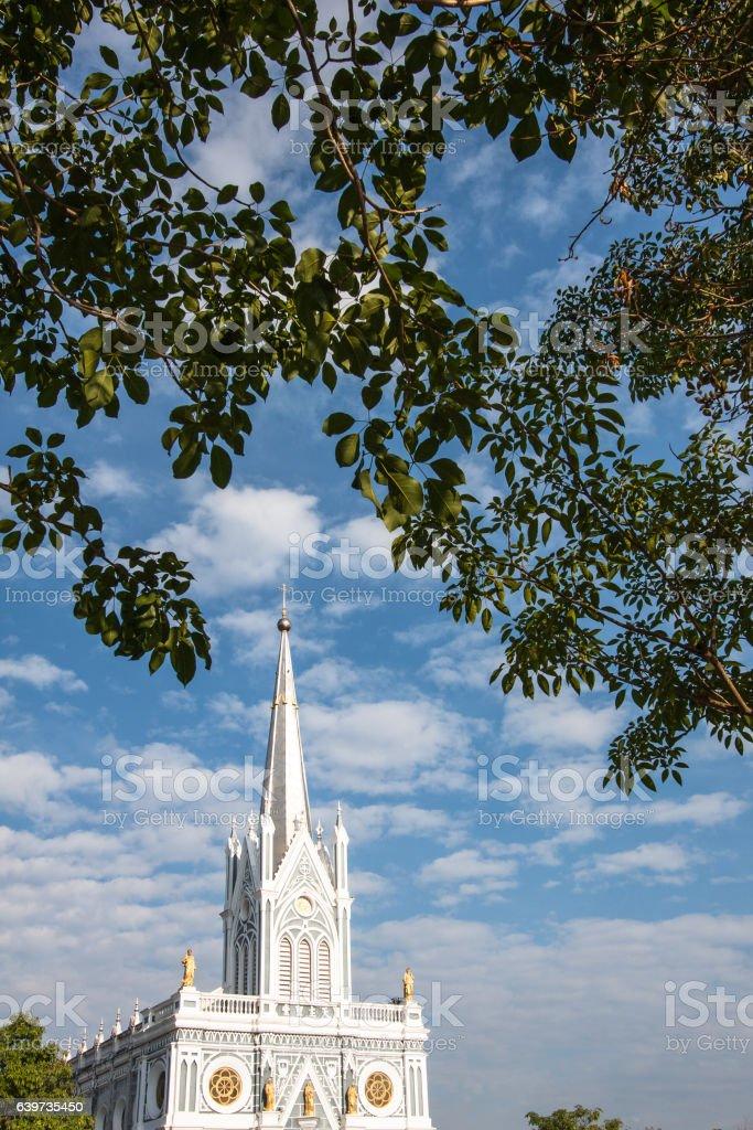Ancient Christ Church stock photo