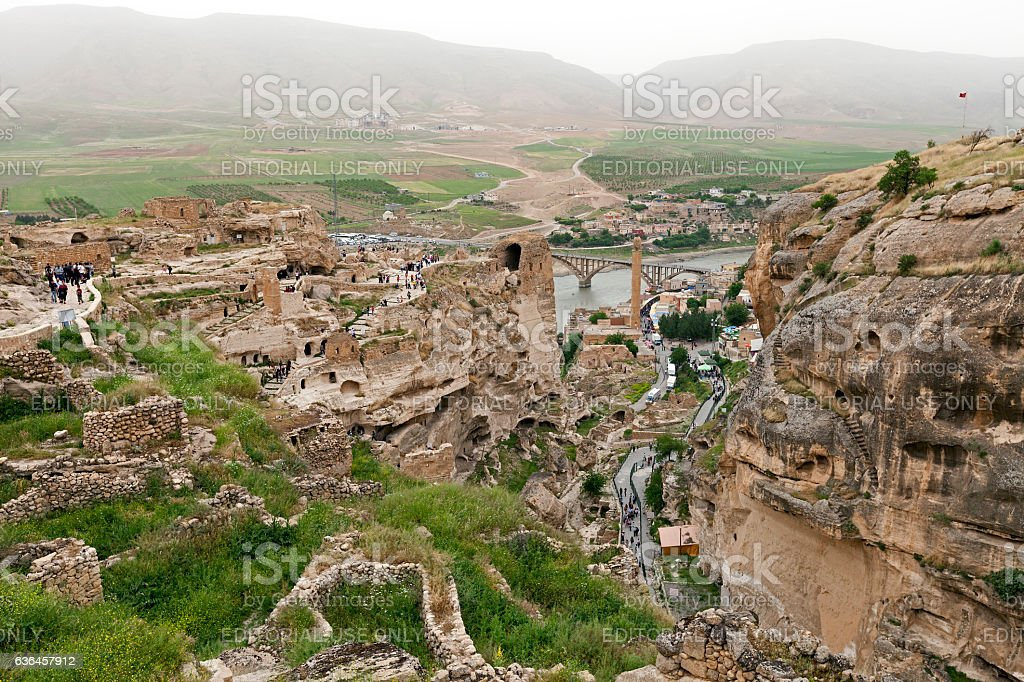 Ancient City Hasankeyf stock photo