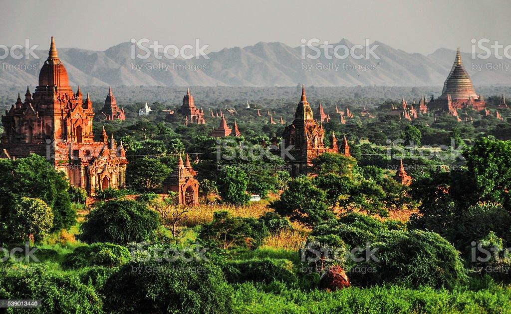 Ancient city of Bagan stock photo