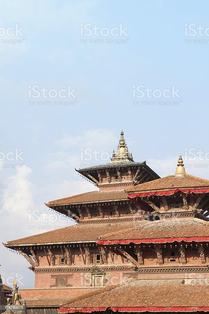 Ancient city of Patan Durbar Square. stock photo