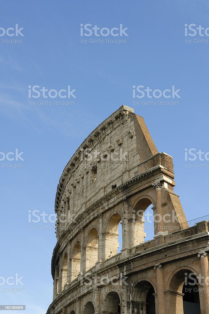 Ancient Coliseum royalty-free stock photo