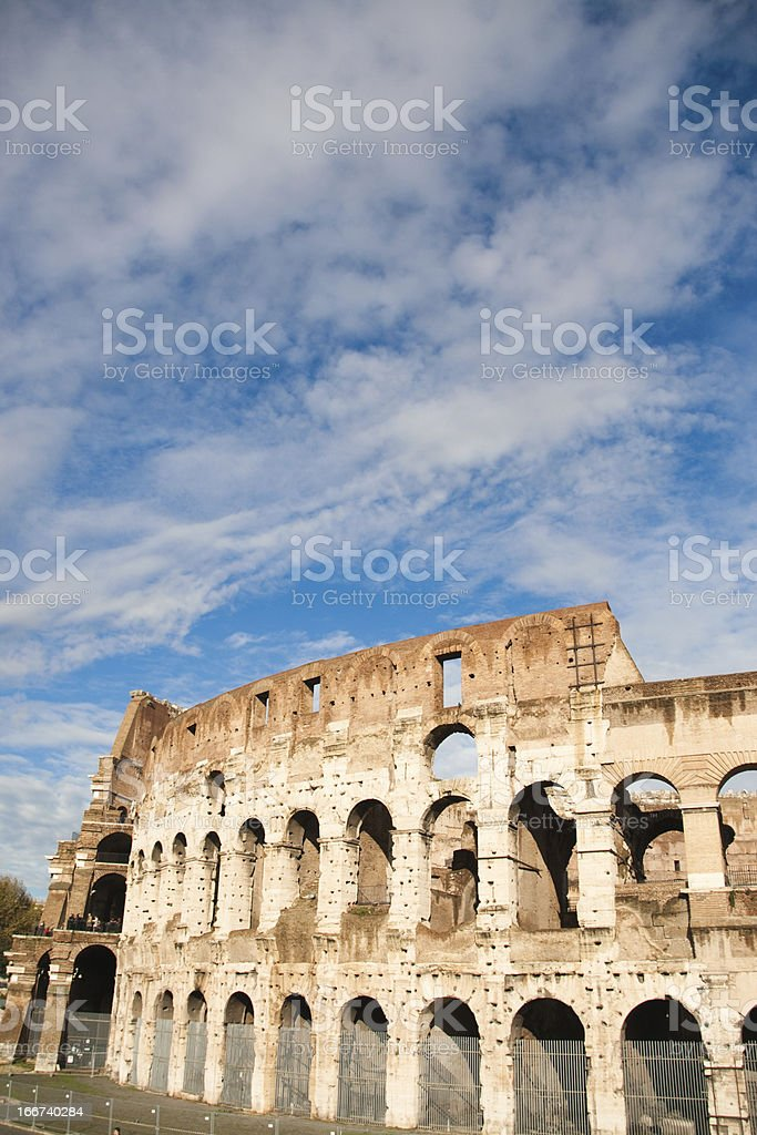 Ancient Colosseum in Rome, Italy royalty-free stock photo