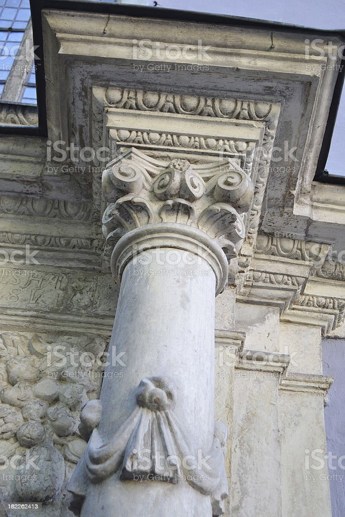 Ancient Column royalty-free stock photo