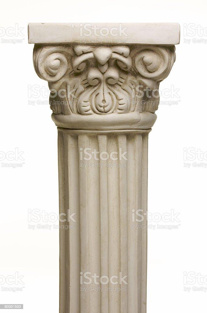 Ancient Column Pillar Replica royalty-free stock photo