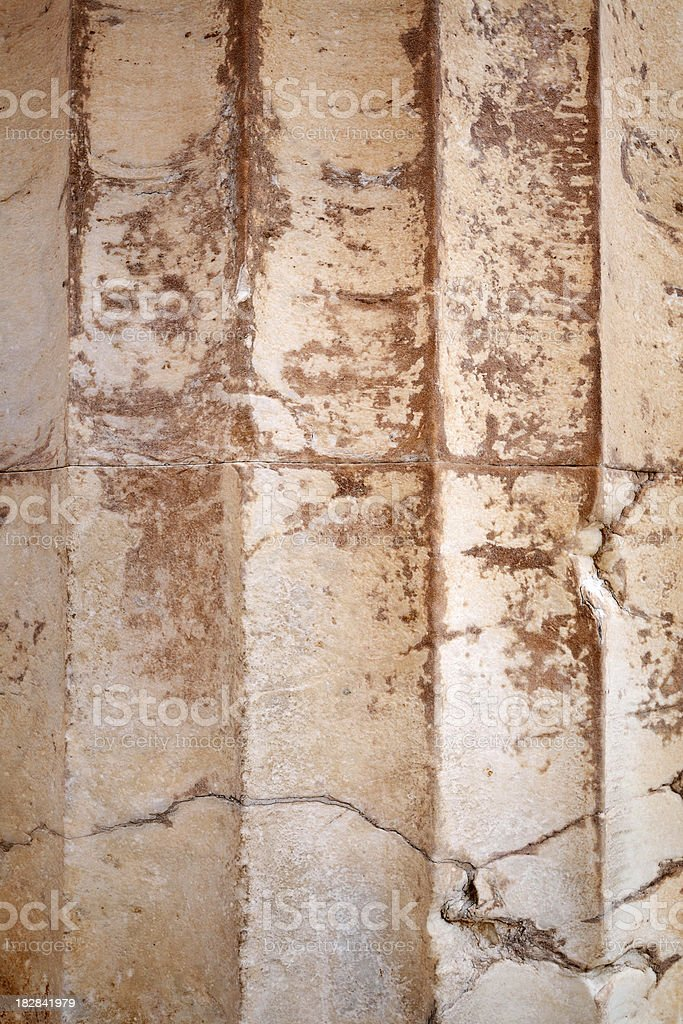 Ancient Column Texture - XLarge royalty-free stock photo