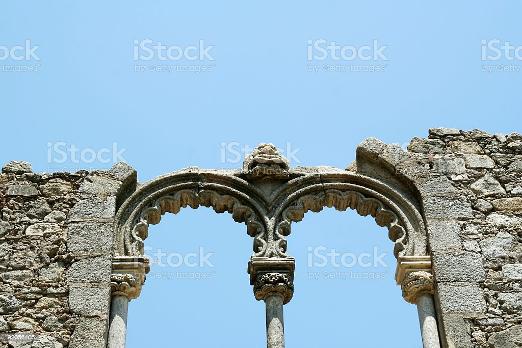 Ancient construction royalty-free stock photo