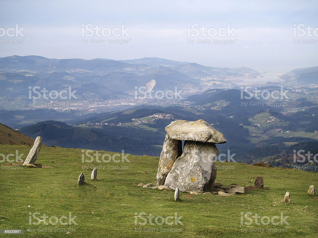 Ancient Dolmen royalty-free stock photo